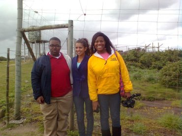 Students from Mississippi University (Colombian student centre) at Seaview.