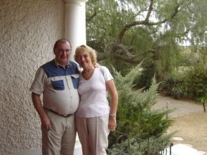Mike and Norma at Amakhala