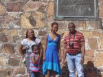 Nkosi family at Donkin Memorial