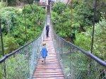Swing bridge at Kragga Kamma