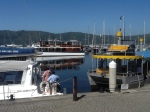 Boats in Knysna Harbour