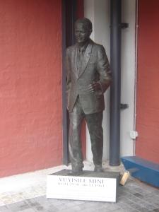 Statue of Vuyisile Mini