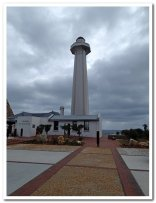 The lighthouse on the Donkin Memorial