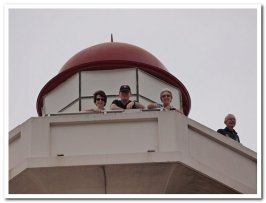 Top of Donkin Memorial Lighthouse