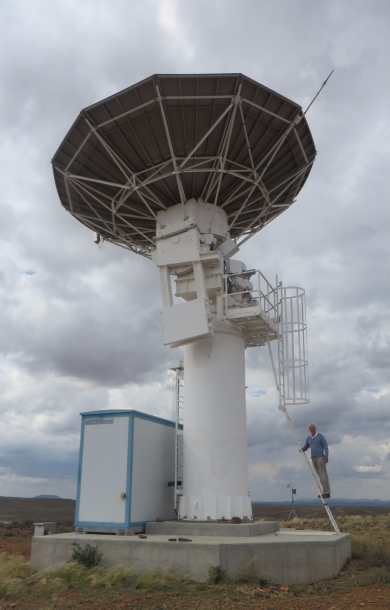 C- BASS radio telescope near Carnarvon.