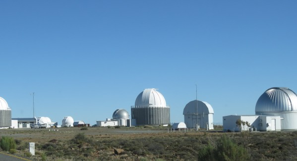 Optical telescopes outside Sutherland