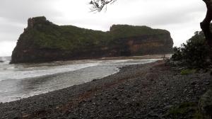 Stony beach at Hole in the Wall