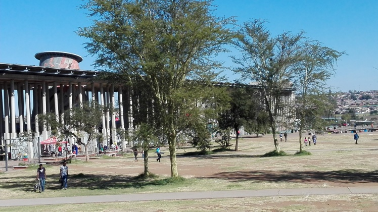 Walter Sisulu Square in Kliptown,